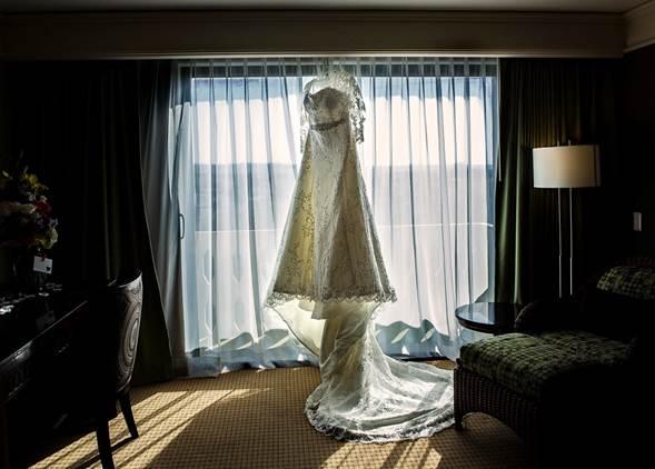 Funda para guardar vestido de novia